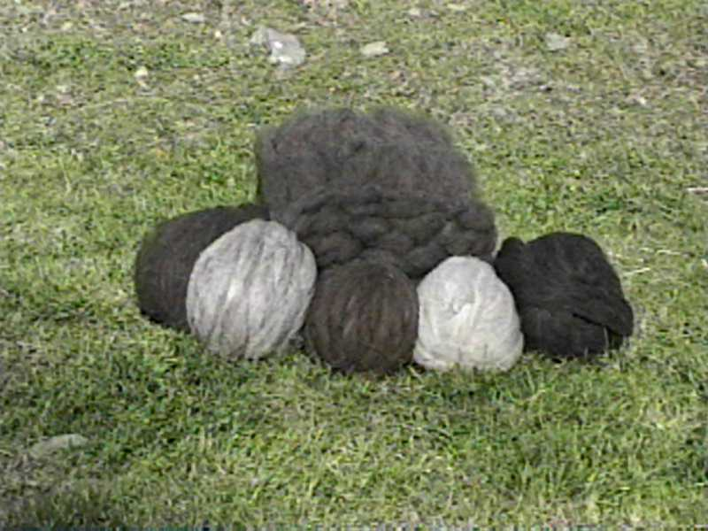 Ball of Roving in a Pile